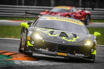 #144 Ferrari 488, Baron Motorsport: Vladimir Hladik