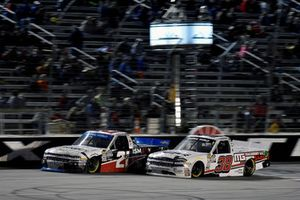 Johnny Sauter, GMS Racing, Chevrolet Silverado ISM Connect and Ross Chastain, Niece Motorsports, Chevrolet Silverado Niece Equipment