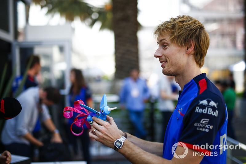 Брендон Хартлі, Toro Rosso