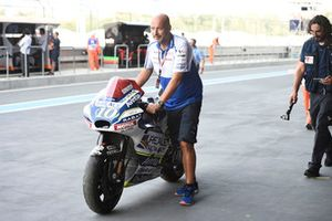 Xavier Simeon, Avintia Racing crashed bike