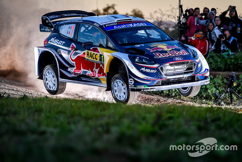 2018: Sébastien Ogier y Julien Ingrassia, M-Sport World Rally Team, Ford Fiesta WRC