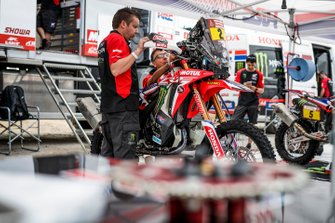 #02 Monster Energy Honda Team: Paulo Goncalves