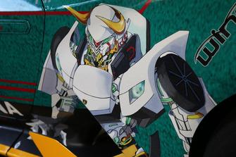 Gundam su una Huracan Super Trofeo