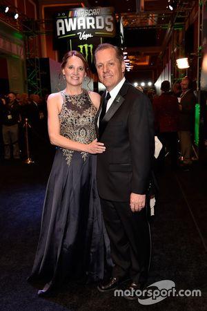 Todd Gordon, Team Penske y su esposa Amy