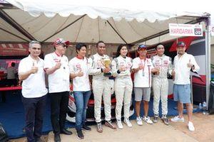 Rio Haryanto, Haridarma Manoppo, Alinka Hardianti dan Demas Agil, Toyota Team Indonesia