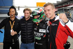 LMGTE-Am polesitters #88 Dempsey Proton Competition Porsche 911 RSR: Matteo Cairoli, Gianluca Roda, Satoshi Hoshino