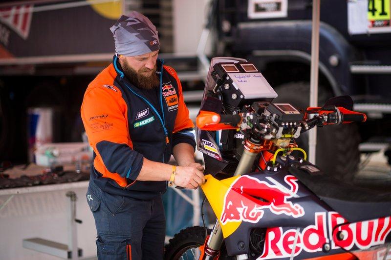 Mecánico de KTM