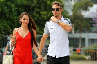 Jessica Michibata, novia de Jenson Button