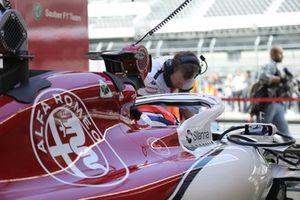Tatiana Calderon, Sauber C37 Test Pilotu