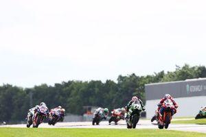 Leon Haslam, Team HRC, Lucas Mahias, Kawasaki Puccetti Racing