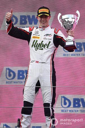 Frederik Vesti, ART Grand Prix, 2nd Position