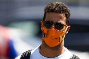 Daniel Ricciardo, McLaren arrives