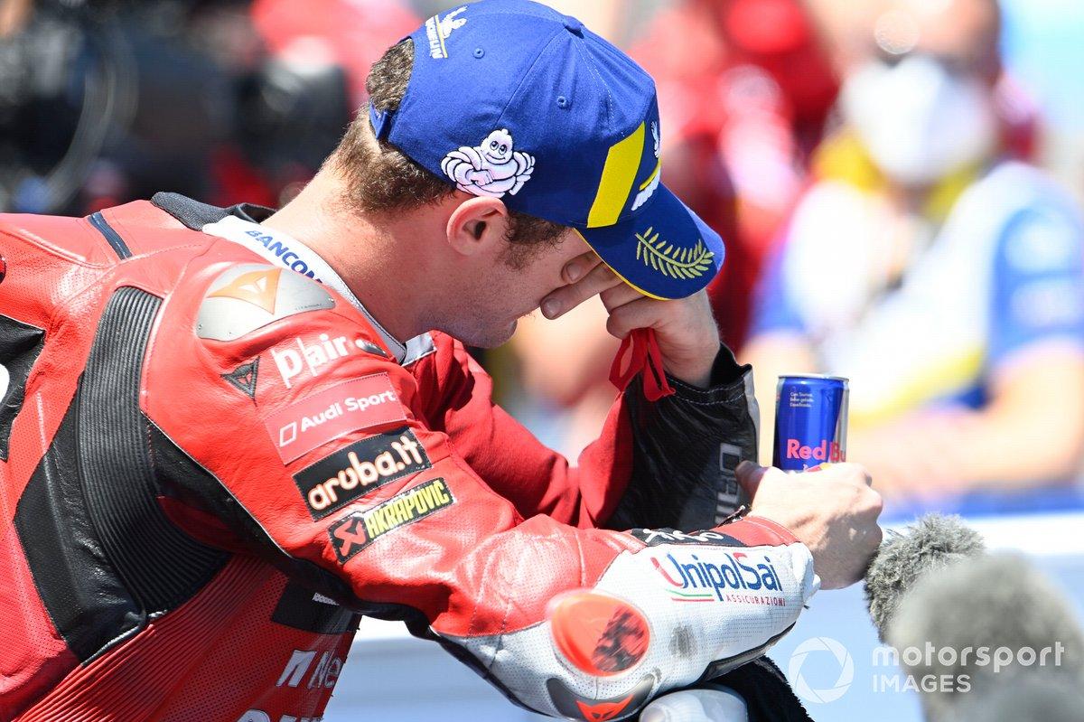 Il vincitore del GP di Spagna, Jack Miller, Ducati Team