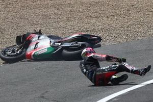 Aleix Espargaro, Aprilia Racing Team Gresini crash