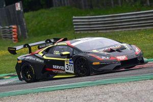 #311 Bonaldi Motorsport, Lamborghini Huracan Super Trofeo Evo: Sascha Tempesta, Simone Iacone