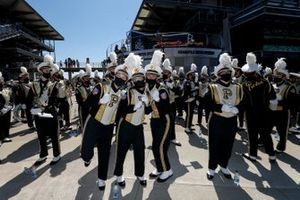 Purdue marching band, prerace activities