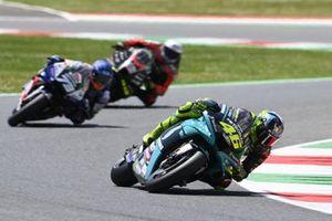Valentino Rossi, Petronas Yamaha SRT, Alex Marquez, Team LCR Honda, Lorenzo Savadori, Aprilia Racing Team Gresini