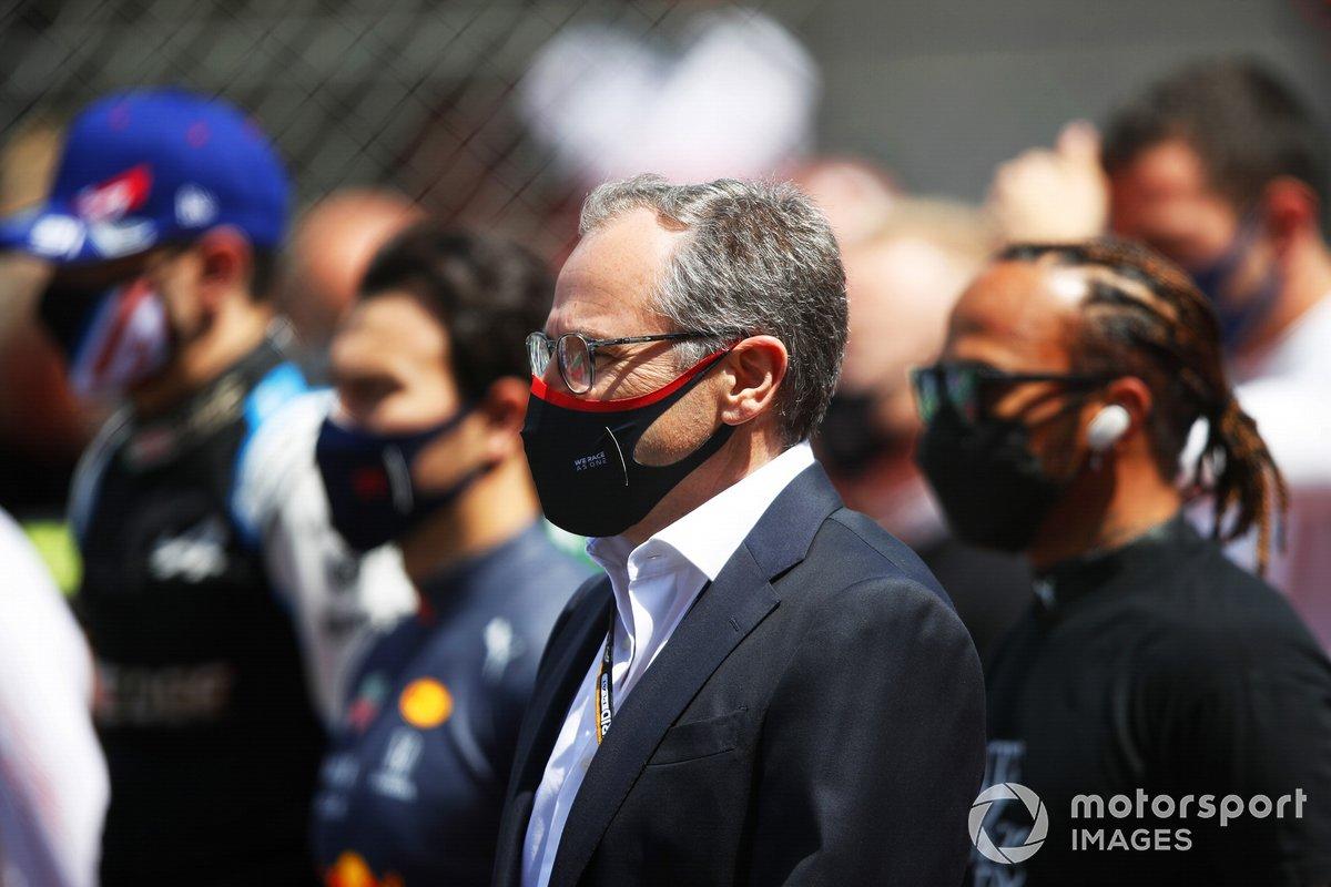 Stefano Domenicali, director general de la Fórmula 1