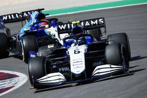 Nicholas Latifi, Williams FW43B, George Russell, Williams FW43B