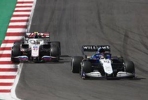 George Russell, Williams FW43B, Mick Schumacher, Haas VF-21