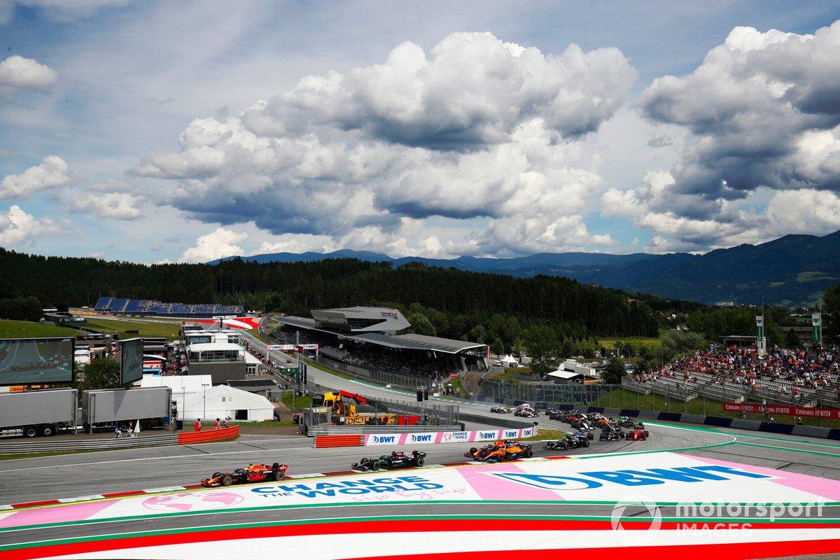 Max Verstappen, Red Bull Racing RB16B, Lewis Hamilton, Mercedes W12, Lando Norris, McLaren MCL35M, Sergio Pérez, Red Bull Racing RB16B