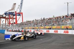 Antonio Felix da Costa, DS Techeetah, DS E-Tense FE21, Alexander Sims, Mahindra Racing, M7Electro