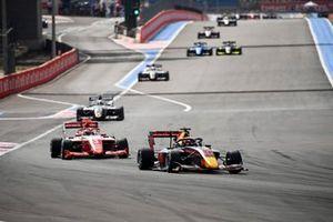 Jak Crawford, Hitech Grand Prix and Olli Caldwell, Prema Racing