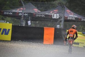 Danilo Petrucci, KTM Tech3 after his crash