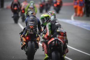 Luca Marini, Esponsorama Racing in the pitlane