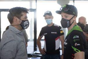 Carlos Checa, Jonathan Rea, Kawasaki Racing Team WorldSBK