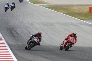 Jack Miller, Ducati Team, Fabio Quartararo, Yamaha Factory Racing
