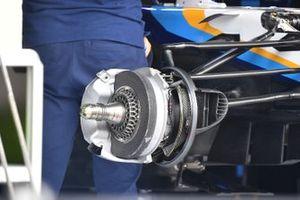 Williams FW43B front brake detail