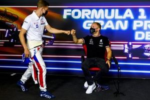Valtteri Bottas, Mercedes and Mick Schumacher, Haas F1 in the Press Conference