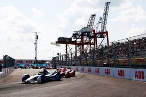 Maximilian Guenther, BMW I Andretti Motorsports, BMW iFE.21, Alex Lynn, Mahindra Racing, M7Electro