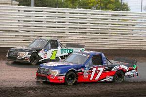 Donny Schatz, Team DGR, Ford F-150 Little Giant Ford, Hailie Deegan, Team DGR, Ford F-150 Toter / Engine Ice