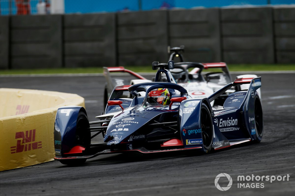 Robin Frijns, Envision Virgin Racing, Audi e-tron FE07, Andre Lotterer, Tag Heuer Porsche, Porsche 99X Electric