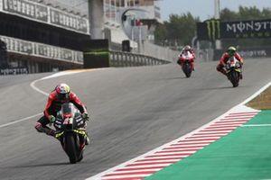 Aleix Espargaro, Aprilia Racing Team Gresini, Lorenhzo Savadori, Aprilia Racing Team Gresini, Jorge Martin, Pramac Racing
