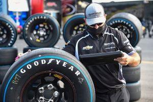 Justin Haley, Spire Motorsports, Chevrolet Camaro FOE Mother's Day Goodyear tires