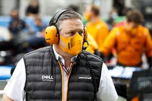 Zak Brown, CEO, McLaren Racing