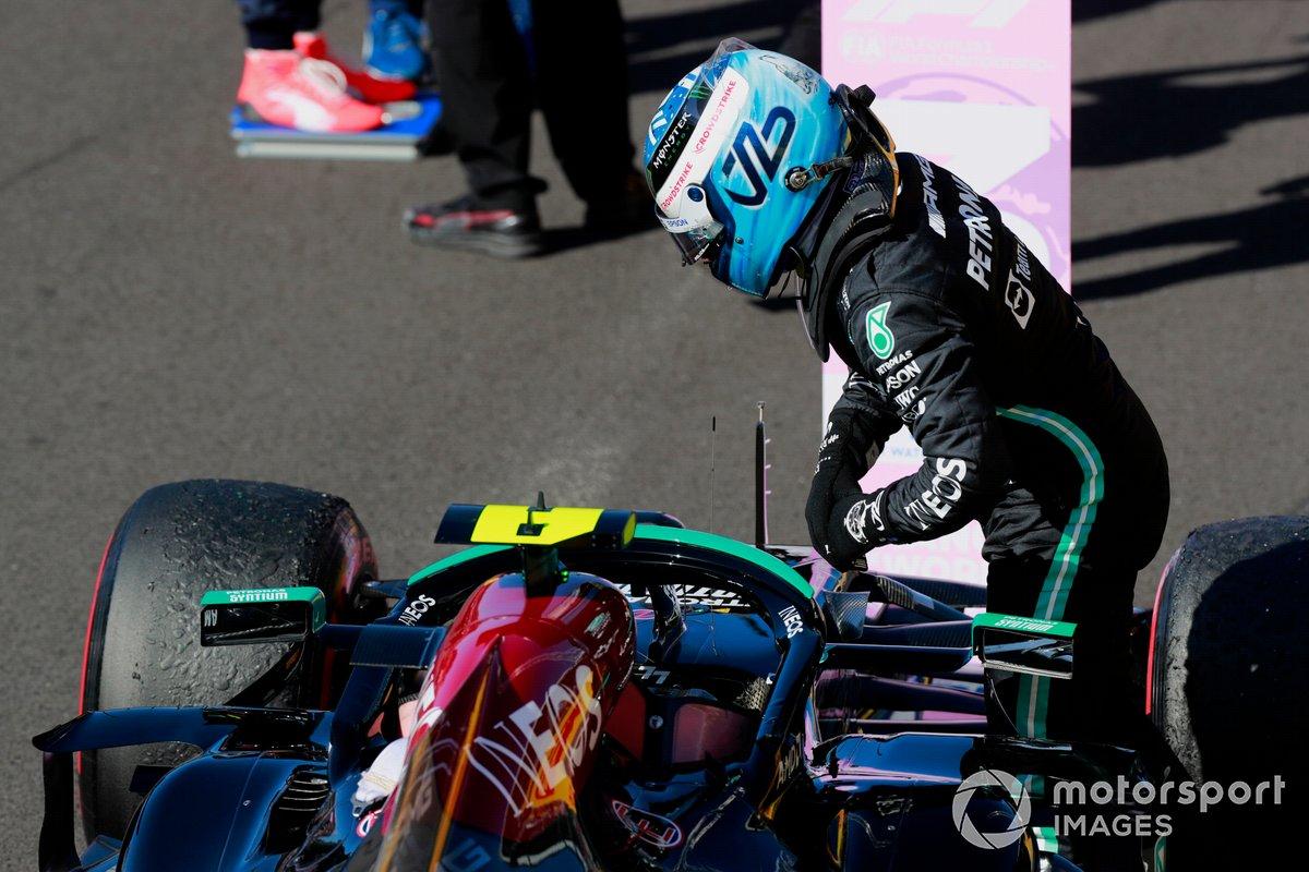 Tercer puesto de la carrera Sprint, Valtteri Bottas, Mercedes