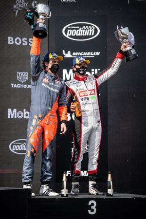 Rodrigo Mello e Nelsinho Piquet