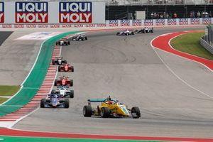 Renn-Action der W-Series 2021 auf dem Circuit of The Americas in Austin