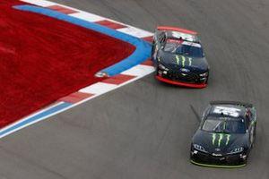 Ty Gibbs, Joe Gibbs Racing, Toyota Supra Monster Energy, Riley Herbst, Stewart-Haas Racing, Ford Mustang Monster Energy