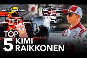 Top 5 Kimi Raikkonen