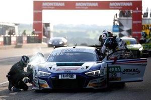 #29 Montaplast by Land-Motorsport Audi R8 LMS: Ricardo Feller, Christopher Mies