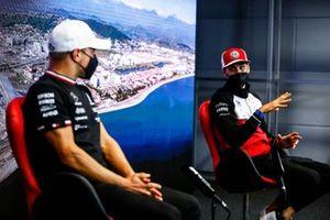 Antonio Giovinazzi, Alfa Romeo Racing and Valtteri Bottas, Mercedes in the Press Conference