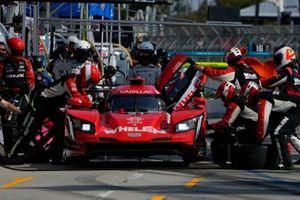 #31: Whelen Engineering Racing Cadillac DPi, DPi: Felipe Nasr, Pipo Derani pit stop.