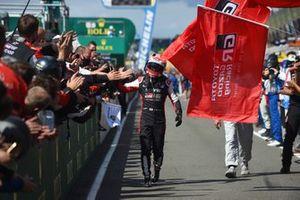 Second place overall Kazuki Nakajima, #8 Toyota Gazoo Racing Toyota GR010 - Hybrid Hypercar