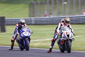 Michael van der Mark, BMW Motorrad WorldSBK Team, Garrett Gerloff, GRT Yamaha WorldSBK Team