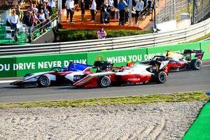 Logan Sargeant, Charouz Racing System, Arthur Leclerc, Prema Racing